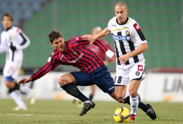 Gokhan Inler, centrocampista Udinese (Foto: Ansa)