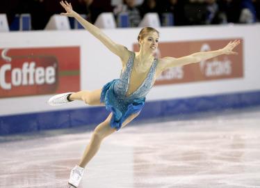 Carolina Kostner (Foto Ansa)