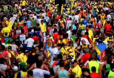 Maratona in immagine di repertorio (Foto Ansa)