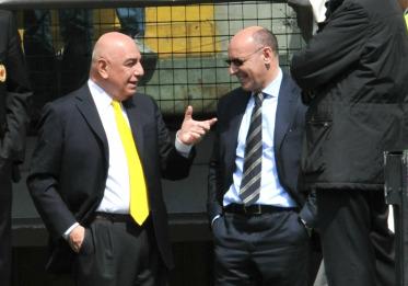 Adriano Galliani e Beppe Marotta (Foto: Ansa)