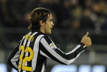 Alessandro Matri, attaccante Juventus (Foto Ansa)