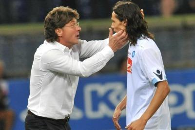 Ezequiel Lavezzi, attaccante Napoli (Foto Ansa)
