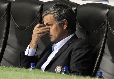 José Mourinho, foto Ansa