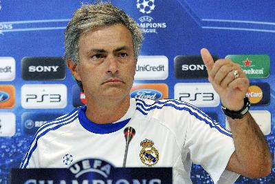 Mourinho allenatore del Real (Foto Ansa)