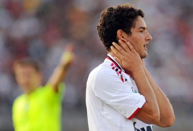 Alexandre Pato, attaccante Milan (Foto Ansa)