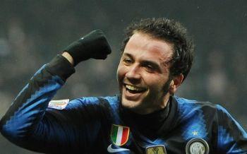 Giampaolo Pazzini, nuovo attaccante dell'Inter