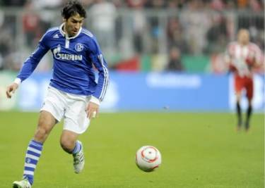 Raul Gonzàlez attaccante Schalke 04 (Foto: Ansa)