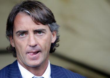 Roberto Mancini tecnico del City (Foto Ansa)