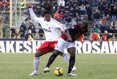 Ronaldinho, trequartista Milan (Foto Ansa)