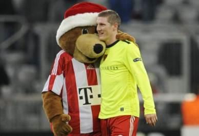 Schweinsteiger del Bayern (Foto Ansa)
