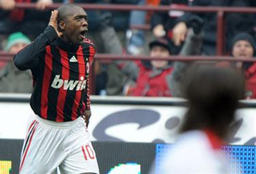 Clarence Seedorf, centrocampista Milan (Foto Ansa)