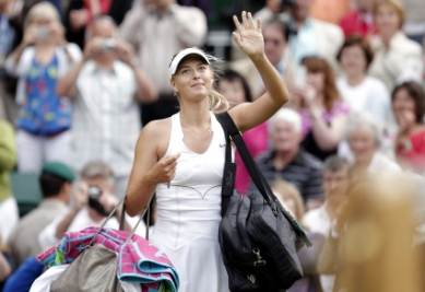 Sharapova in finale (Foto Ansa)