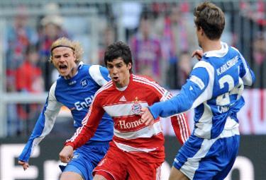 Sosa centrocampista del Bayern (Foto Ansa)