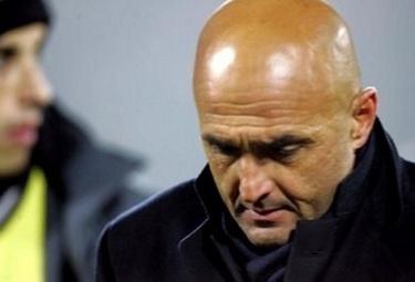 Luciano Spalletti, foto Ansa