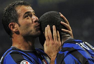 Dejan Stankovic, centrocampista Inter (Foto Ansa)
