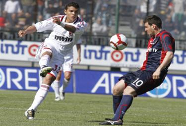 Thiago Silva, difensore Milan (Foto Ansa)
