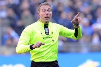 Valeri l'arbitro di Juventus Inter (Foto Ansa)