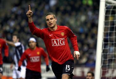 Vidic, difensore dello United (Foto: ANSA)