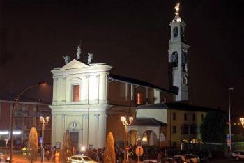 La chiesa di Brembate di Sopra (Foto Ansa)