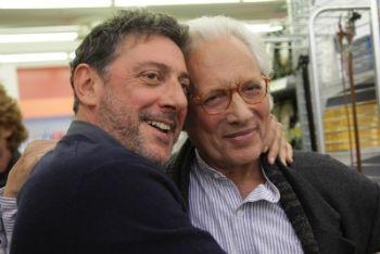 Sergio Castellitto ed Enzo Jannacci (Foto Ansa)