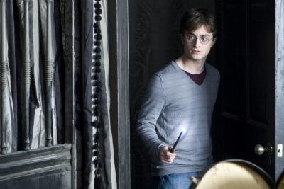 Daniel Radcliff nei panni di Harry Potter (Foto Ansa)