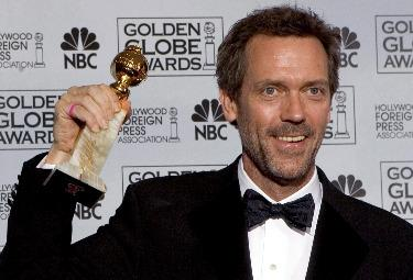 Hugh Laurie, protagonista di Dr. House (Foto Ansa)