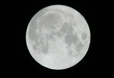 La Luna (Foto Ansa)
