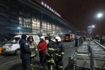 L'aeroporto Domodedovo (Foto Ansa)