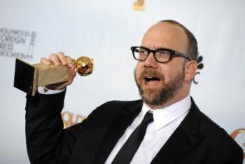 Paul Giamatti all'assegnazione del Golden Globe per La versione di Barney