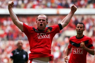 Wayne Rooney, attaccante United (Foto Ansa)
