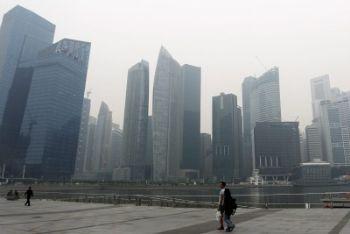 Uno scorcio della skyline di Singapore (Foto Ansa)