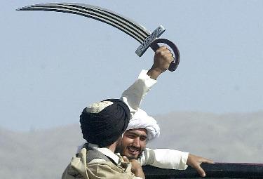 Un militante talebano (Foto Ansa)