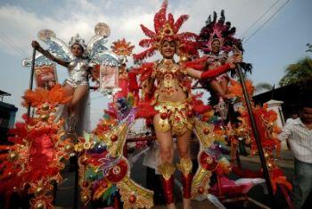 Lo spettacolare Carnevale a Managua in Nicaragua