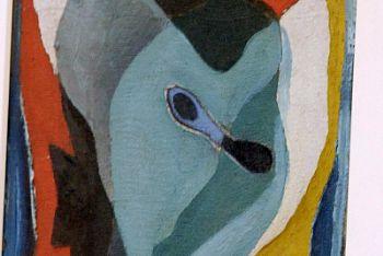 Salvador Dalì, Autoritratto (1926, particolare)