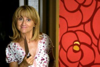 Luciana Littizzetto in una scena di Fuoriclasse, su Raiuno (Ansa)