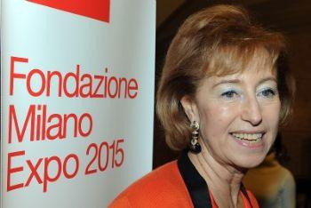 Letizia Moratti (foto Ansa)