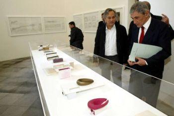 Bassolino in visita al museo Madre