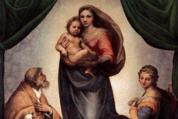 La Madonna Sistina di Raffaello