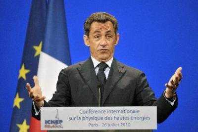 Nicholas Sarkozy diventerà papà