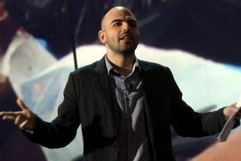 Saviano uno dei conduttori del programma (Foto Ansa)