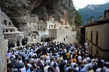Il monastero turco di Sumela riaperto da Erdogan