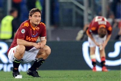 Franceso Totti (foto Ansa)