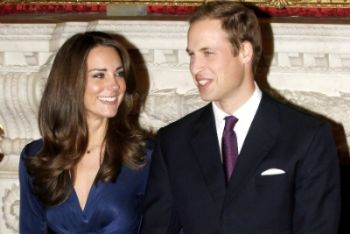 Kate e William oggi sposi (Ansa)