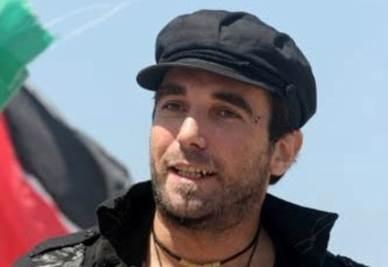Vittorio Arrigoni, foto Ansa