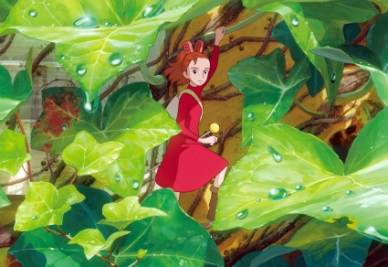 Una scena di Arrietty (Foto Ansa)