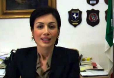 Il ministro Carfagna, foto Ansa