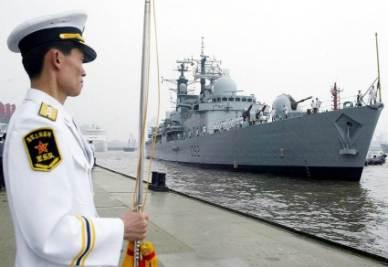 Il dominio cinese dei mari (Foto Ansa)