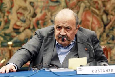 Maurizio Costanzo, foto Ansa