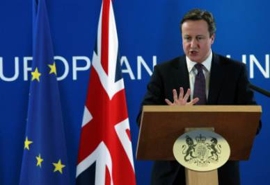 David Cameron (Foto Ansa)
