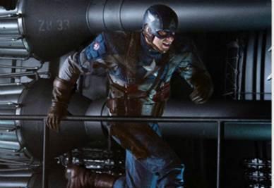 Una scena del film Captain America (Foto Ansa)